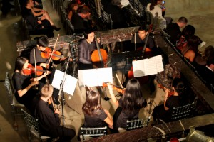 CYMG Chamber Strings students at first wedding gig